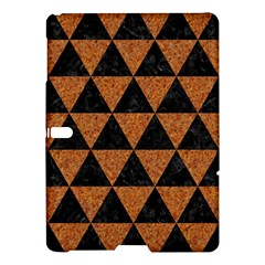 Triangle3 Black Marble & Teal Leather Samsung Galaxy Tab S (10 5 ) Hardshell Case  by trendistuff
