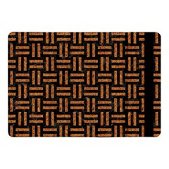 Woven1 Black Marble & Teal Leather (r)	 Apple Ipad Pro 10 5   Flip Case by trendistuff
