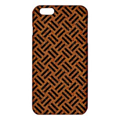 Woven2 Black Marble & Teal Leather Iphone 6 Plus/6s Plus Tpu Case by trendistuff