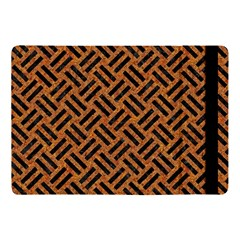 Woven2 Black Marble & Teal Leather Apple Ipad Pro 10 5   Flip Case by trendistuff