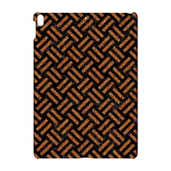 Woven2 Black Marble & Teal Leather (r) Apple Ipad Pro 10 5   Hardshell Case by trendistuff