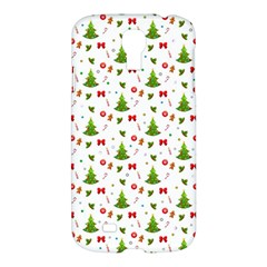 Christmas Pattern Samsung Galaxy S4 I9500/i9505 Hardshell Case by Valentinaart