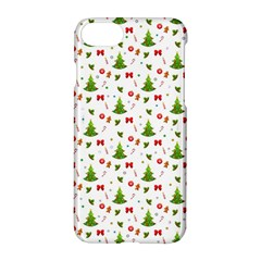 Christmas Pattern Apple Iphone 8 Hardshell Case by Valentinaart