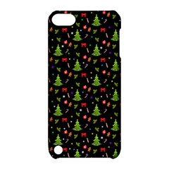 Christmas Pattern Apple Ipod Touch 5 Hardshell Case With Stand by Valentinaart
