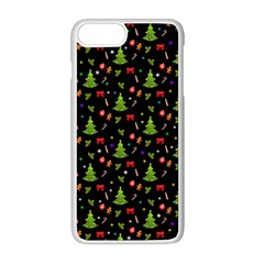 Christmas Pattern Apple Iphone 8 Plus Seamless Case (white)