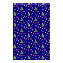 Christmas Pattern Shower Curtain 48  X 72  (small)