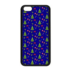 Christmas Pattern Apple Iphone 5c Seamless Case (black)