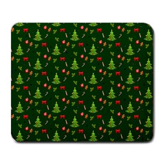 Christmas Pattern Large Mousepads by Valentinaart