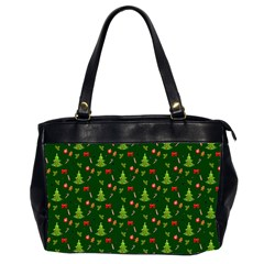 Christmas Pattern Office Handbags (2 Sides)
