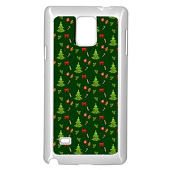 Christmas Pattern Samsung Galaxy Note 4 Case (white)