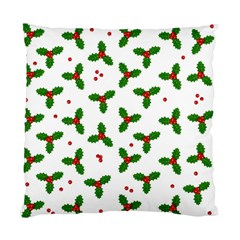 Christmas Pattern Standard Cushion Case (one Side)