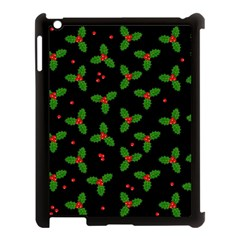 Christmas Pattern Apple Ipad 3/4 Case (black) by Valentinaart