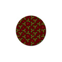 Christmas Pattern Golf Ball Marker by Valentinaart