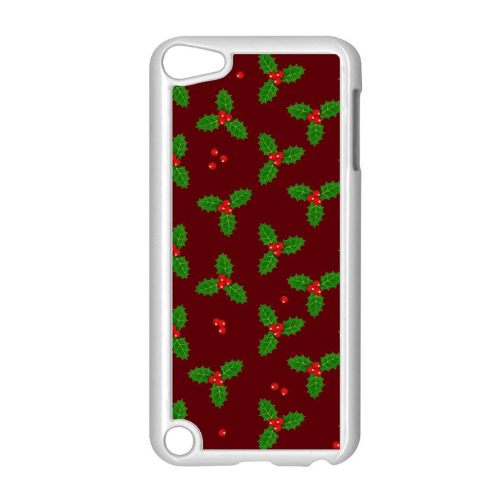 Christmas pattern Apple iPod Touch 5 Case (White)