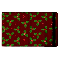 Christmas Pattern Apple Ipad Pro 12 9   Flip Case by Valentinaart