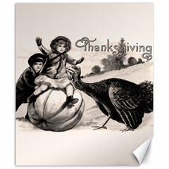 Vintage Thanksgiving Canvas 20  X 24   by Valentinaart