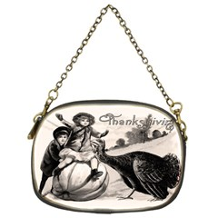 Vintage Thanksgiving Chain Purses (one Side)  by Valentinaart