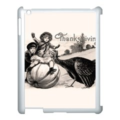 Vintage Thanksgiving Apple Ipad 3/4 Case (white) by Valentinaart