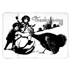 Vintage Thanksgiving Samsung Galaxy Tab 8 9  P7300 Flip Case by Valentinaart