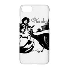 Vintage Thanksgiving Apple Iphone 8 Hardshell Case by Valentinaart