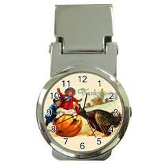Vintage Thanksgiving Money Clip Watches