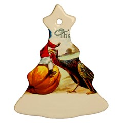 Vintage Thanksgiving Ornament (christmas Tree)
