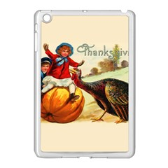 Vintage Thanksgiving Apple Ipad Mini Case (white)