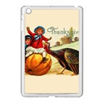 Vintage Thanksgiving Apple iPad Mini Case (White) Front