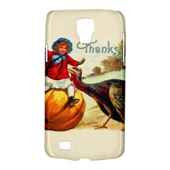 Vintage Thanksgiving Galaxy S4 Active by Valentinaart