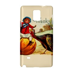 Vintage Thanksgiving Samsung Galaxy Note 4 Hardshell Case by Valentinaart
