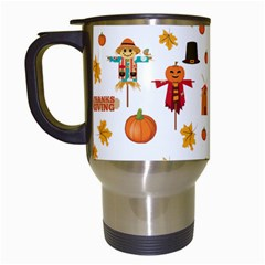 Thanksgiving Travel Mugs (white)