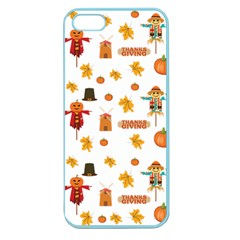 Thanksgiving Apple Seamless Iphone 5 Case (color)