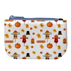 Thanksgiving Large Coin Purse by Valentinaart