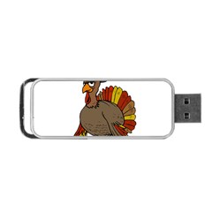 Thanksgiving Turkey  Portable Usb Flash (two Sides)