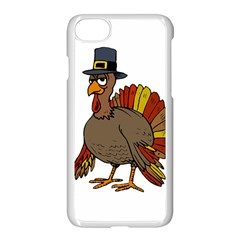 Thanksgiving Turkey  Apple Iphone 8 Seamless Case (white)