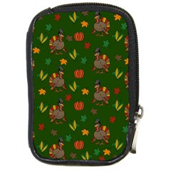 Thanksgiving Turkey  Compact Camera Cases by Valentinaart