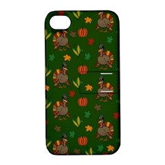 Thanksgiving Turkey  Apple Iphone 4/4s Hardshell Case With Stand