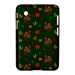 Thanksgiving Turkey  Samsung Galaxy Tab 2 (7 ) P3100 Hardshell Case  by Valentinaart