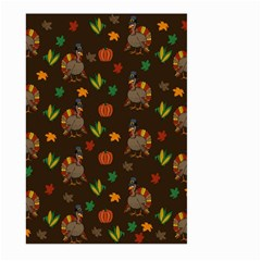 Thanksgiving Turkey  Large Garden Flag (two Sides)