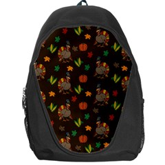 Thanksgiving Turkey  Backpack Bag by Valentinaart