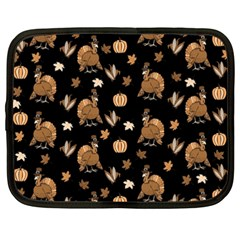 Thanksgiving Turkey  Netbook Case (xxl)