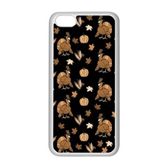 Thanksgiving Turkey  Apple Iphone 5c Seamless Case (white)