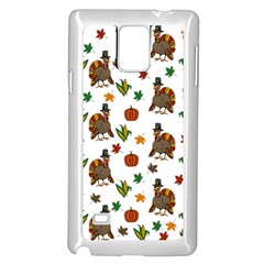 Thanksgiving Turkey  Samsung Galaxy Note 4 Case (white)