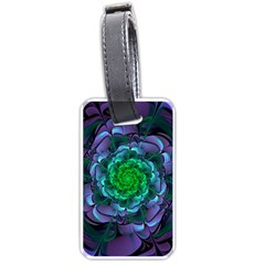 Beautiful Purple & Green Aeonium Arboreum Zwartkop Luggage Tags (one Side)  by jayaprime