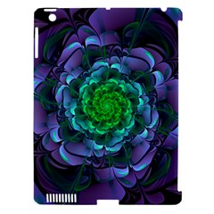 Beautiful Purple & Green Aeonium Arboreum Zwartkop Apple Ipad 3/4 Hardshell Case (compatible With Smart Cover) by jayaprime