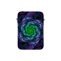 Beautiful Purple & Green Aeonium Arboreum Zwartkop Apple Ipad Mini Protective Soft Cases by jayaprime