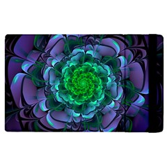 Beautiful Purple & Green Aeonium Arboreum Zwartkop Apple Ipad Pro 12 9   Flip Case by jayaprime