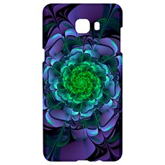 Beautiful Purple & Green Aeonium Arboreum Zwartkop Samsung C9 Pro Hardshell Case  by jayaprime
