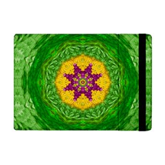 Feathers In The Sunshine Mandala Apple Ipad Mini Flip Case