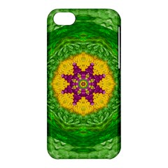 Feathers In The Sunshine Mandala Apple Iphone 5c Hardshell Case by pepitasart